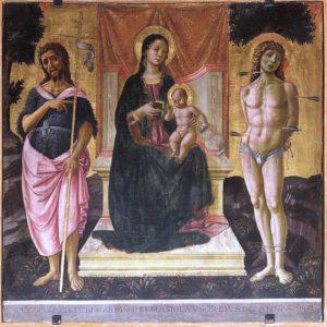 Tavola Alunno datata 1482