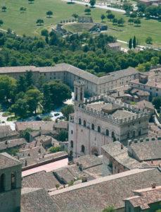 Veduta della Città di Gubbio