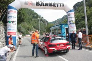 La partenza del Trofeo Luigi Fagioli