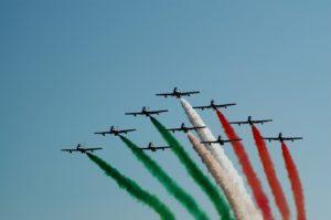 Frecce tricolori-Foto di Sergio Gridelli da Pixabay-in