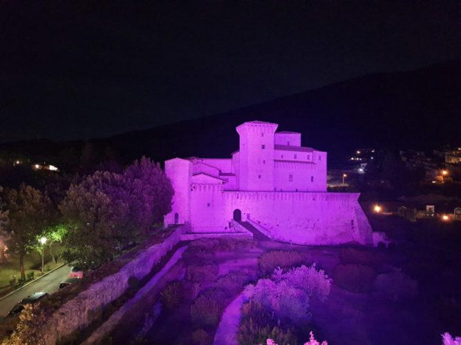 Rocca-Flea-illuminata-di-Rosa-copertina