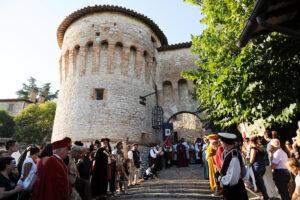 Corciano Festival - Corteo Quattrocentesco del gonfalone - Foto Belfiore